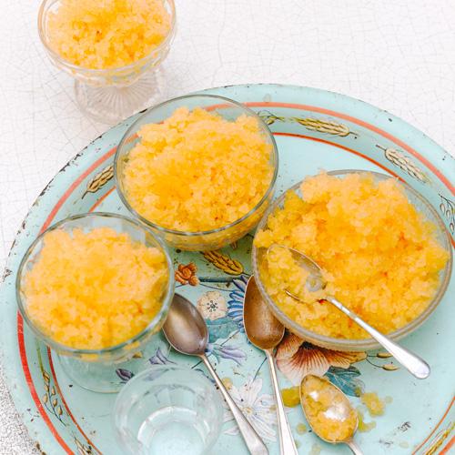 Cantaloupe Granita Recipes — Dishmaps