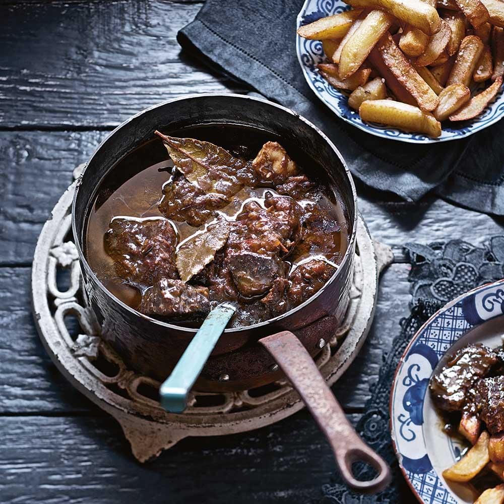 Stoofvlees met bier en stroop recept jamie magazine - Eigentijdse barbecue ...